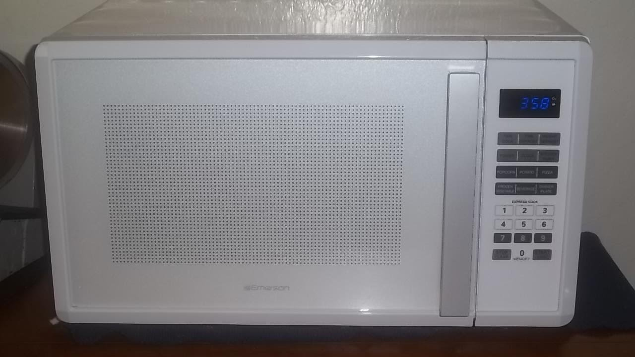 Microwave Oven Review Emerson Model Mw1188w 1000 Watt