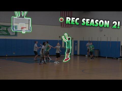 The Rec Basketball Season Is Back!!!