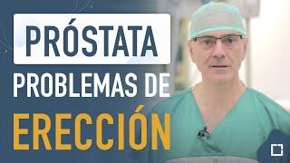 La próstata provoca problemas de erección y eyaculación [PODCAST]