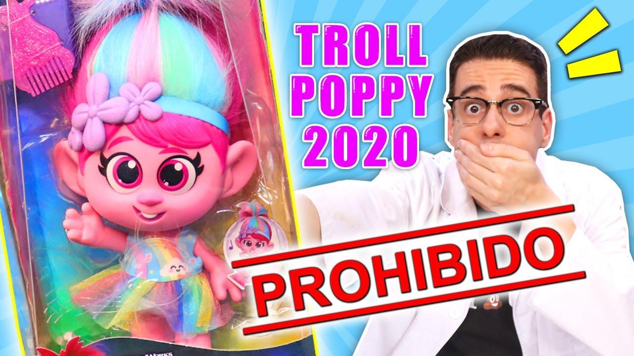 EL JUGUETE MÁS PROHIBIDO DE 2020: TROLL POPPY RISITAS World Tour | Curiosidades con Mike - T4 E28