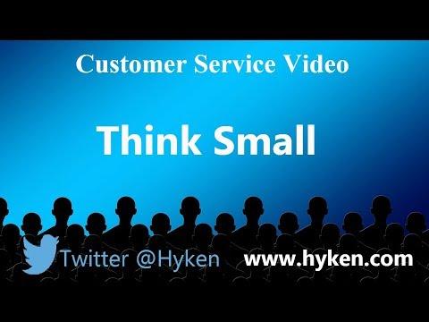 Customer Service Training: Think Small to Make a Big Impact