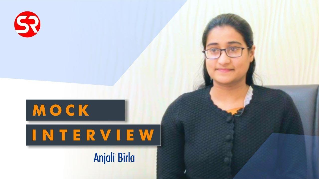 Anjali Birla (Classroom Student) | UPSC | Civil Service Exam | Topper Interview