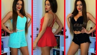 TRY ON HAUL: LINGERIE, CLOTHES, MAKEUP!