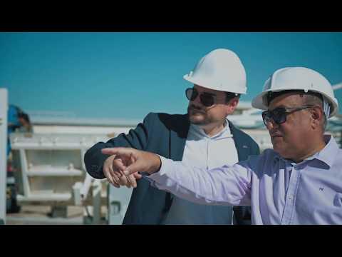 Khalifa University's Masdar Institute Solar Platform Install
