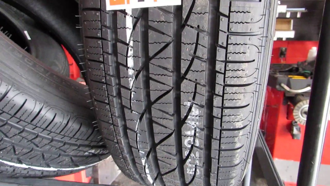 Firestone agricultural tyres test results - YouTube