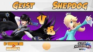 Shepdog vs Geist | Columbrisktion 6.19.2018 | Super Smash Bros WiiU