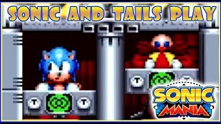 sonic and tails play sonic mania episode 2