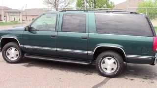 1998 Chevrolet Suburban 1500 4WD