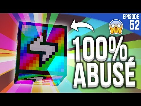J'AI TROUVÉ UN BLOC 100% CHEAT ! | Minecraft Moddé S4 | Episode 52