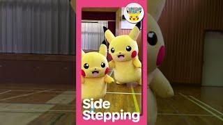 Pokémon Shorts - Side Stepping - | Pokémon Fun Video | Pokémon Kids TV