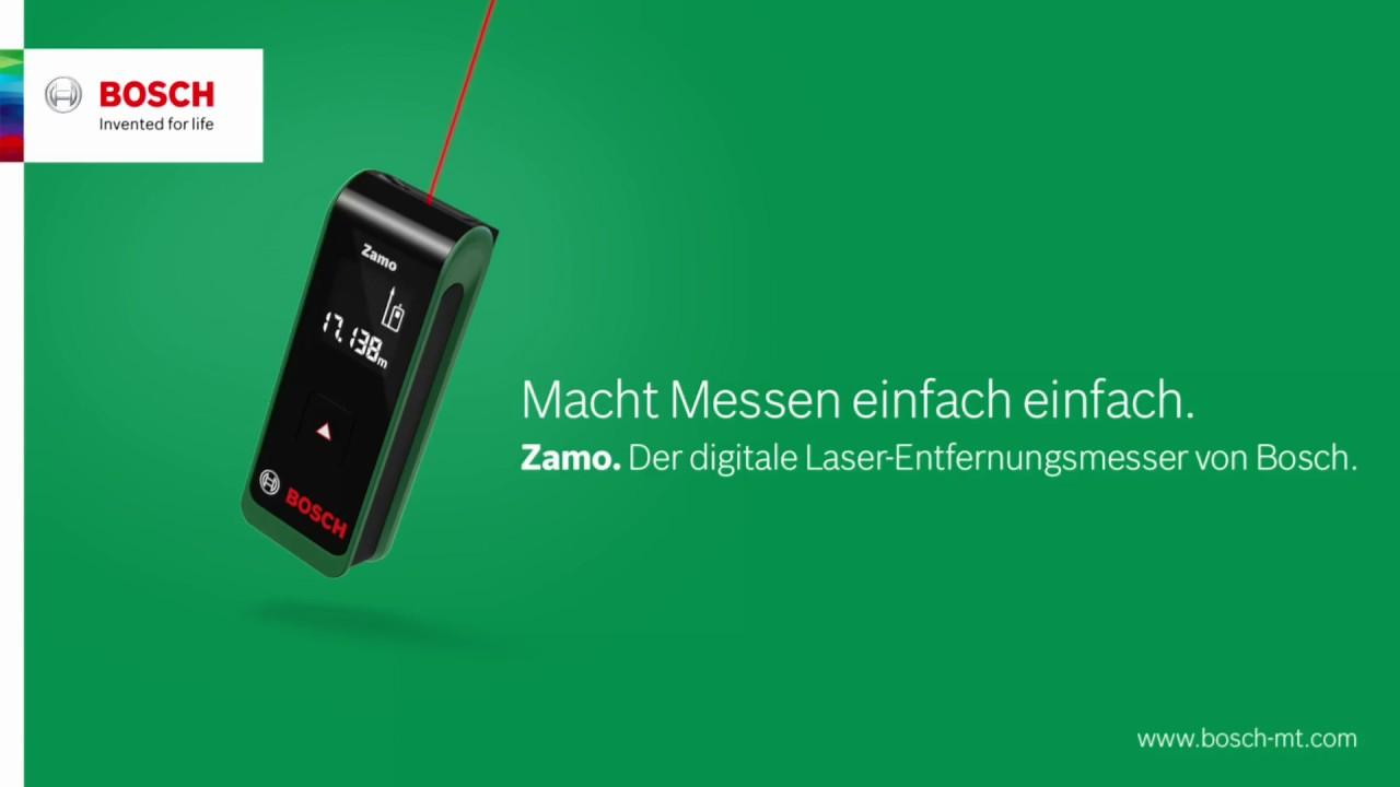 Digitaler Entfernungsmesser Bosch : Betterbeprepared mit zamo u dem laser entfernungsmesser von bosch
