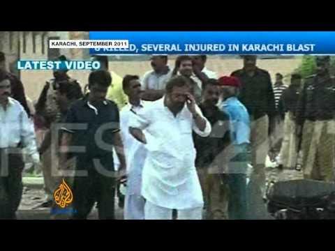 Karachi blast kills Pakistani Taliban foe