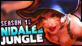 Season 10 Nidalee Jungle Gameplay Guide - League of Legends