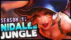 Season 10 Nidalee Jungle Gameplay Guide - League of Legends