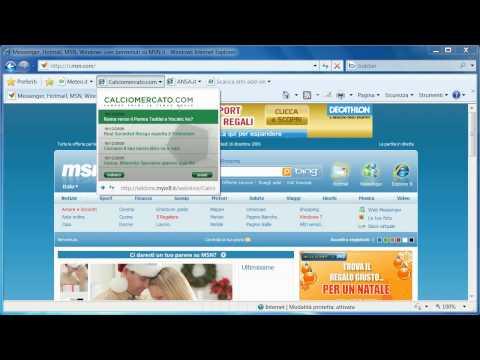 Le Web Slice del Browser Internet Explorer 8