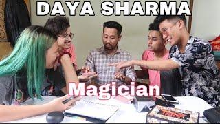A DAY WITH DAYA SHARMA ||Magician||