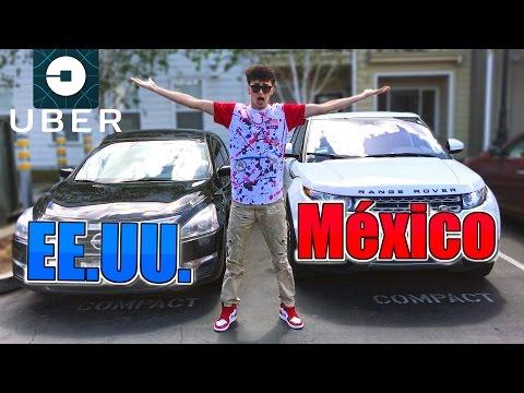 Uber MÉXICO vs ESTADOS UNIDOS | ¿cuál es mejor? (HotSpanish Vlogs)