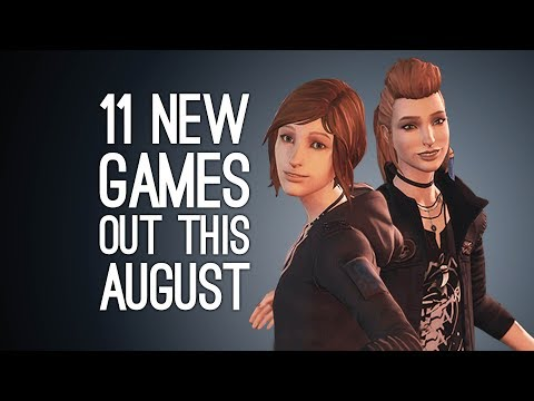 11 New Games out in August 2017 for PS4, Xbox One, Switch, PC