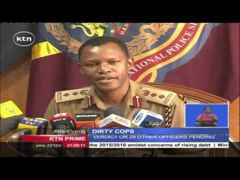 63 senior Kenyan police officers sacked following vetting which unearthed massive corruption