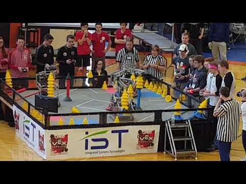 VEX In The Zone Ohio State Championship QF 4-3 6008D 6302Y vs 6403A 6008Z
