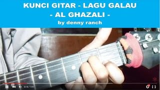 Video KUNCI GITAR - LAGU GALAU - AL GHAZALI download MP3, 3GP, MP4, WEBM, AVI, FLV Desember 2017