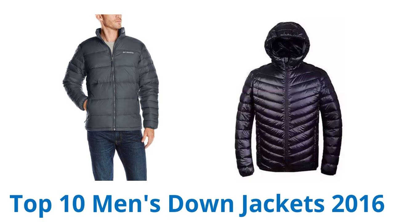 10 Best Men's Down Jackets 2016 - YouTube