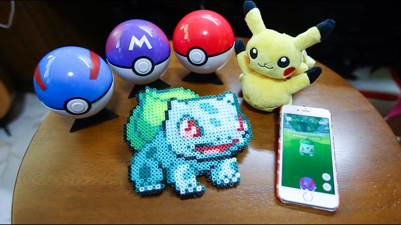 dac5ef852 Pokemon Bulbasaur Perler Beads! POKEMONGO! - YouTube