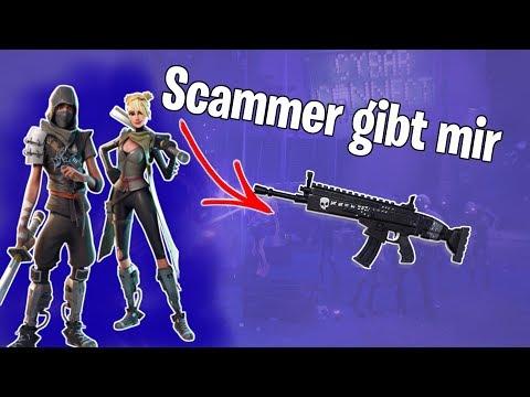 FORTNITE SCAMMER SCAMMT mich NICHT und GIBT BLACK SCAR! | Neco