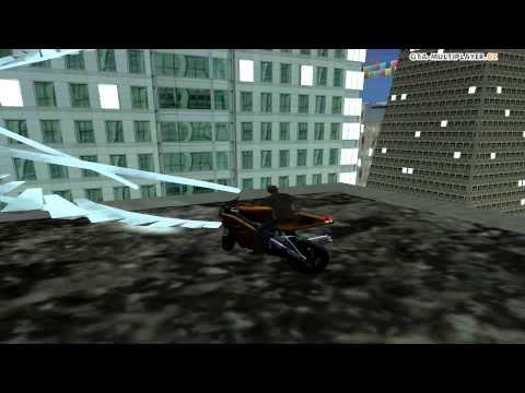 GTA-Multiplayer.cz   SF Stunt dráha / SF Stunt path