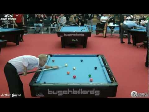 Last Sixteen - Mezz Cues German Open 2012, Bernd Jahnke vs Ralph Eckert, Pool Billiards, 9-Ball