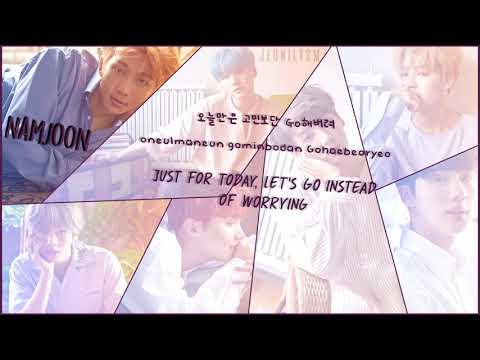 BTS (방탄소년단) - 고민보다 Go (Don't worry, Go) [Lyrics Han|Rom|Eng Color Coded]