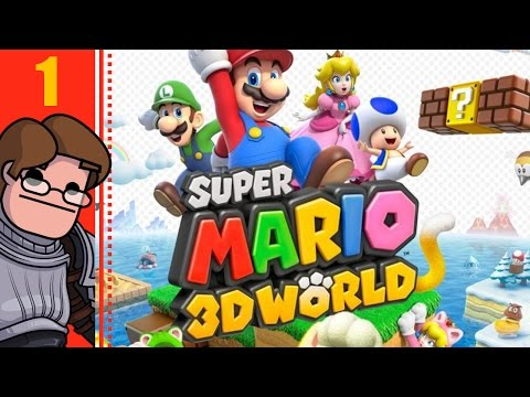Let's Play Super Mario 3D World Co-op Part 1 - Recorded in 2013