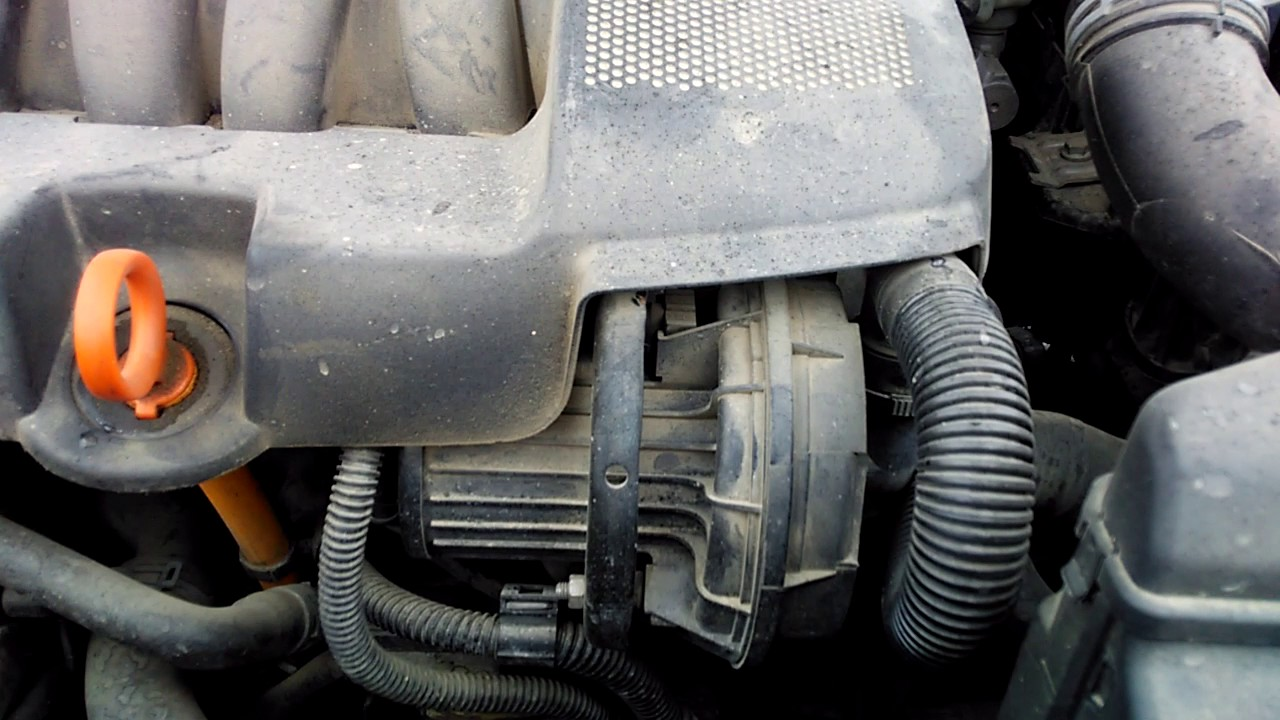 автоком skoda 1.6 ошибка вторичного воздуха
