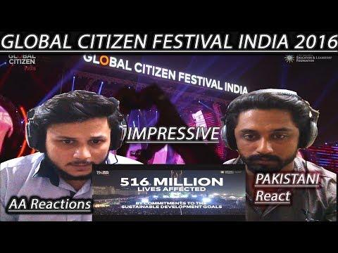 Pakistani Boys React | Global Citizen Festival India 2016 | AA Reactions