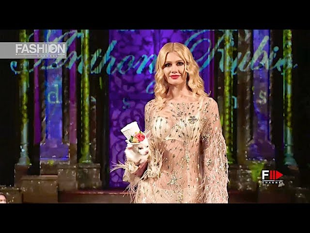 ANTHONY RUBIO Spring Summer 2019 NYFW by Art Hearts Fashion New York - Fashion Channel