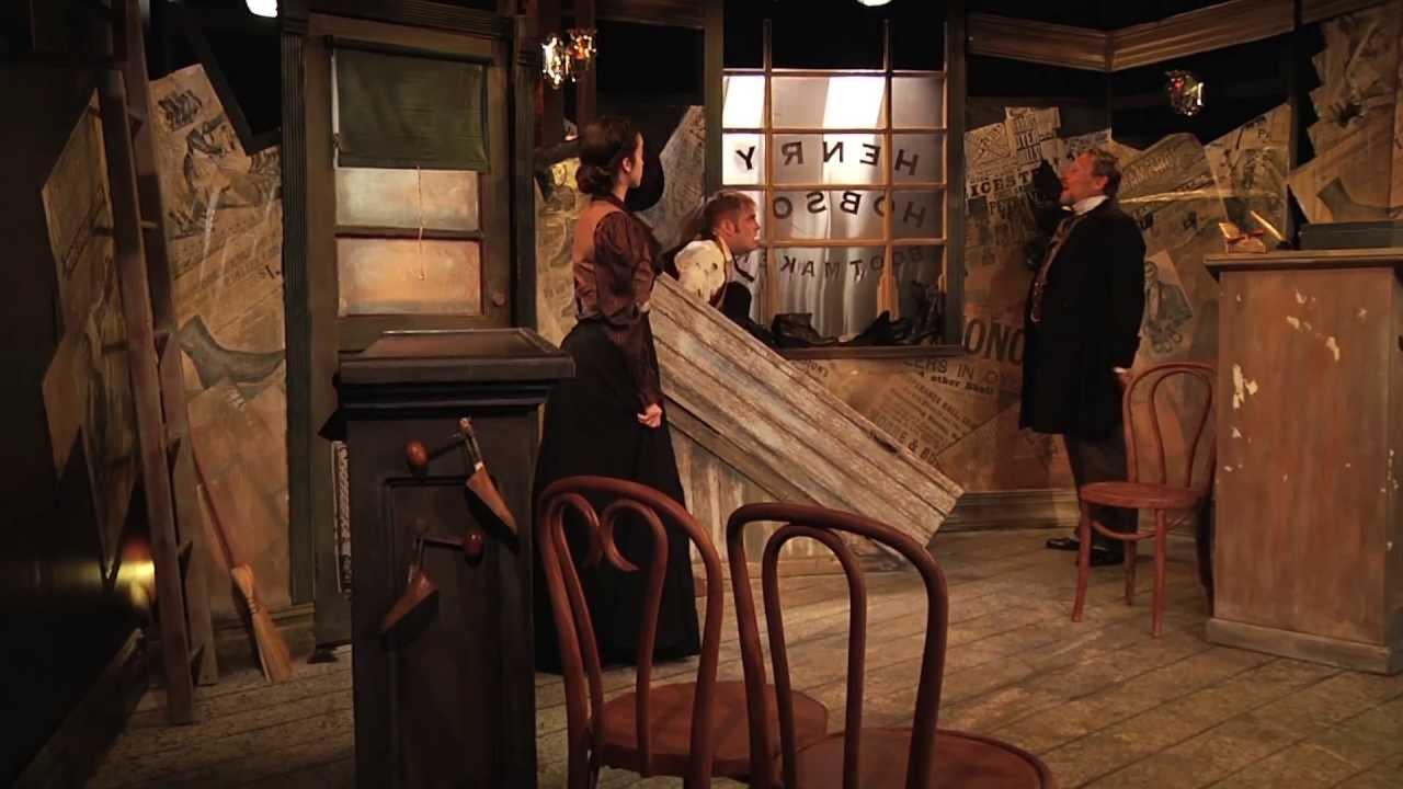 Download HOBSON'S CHOICE presented by The Acting Studio - New York and Chelsea Repertory Company
