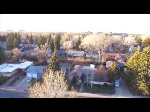 DJI Phantom 3 over Laramie Wyoming