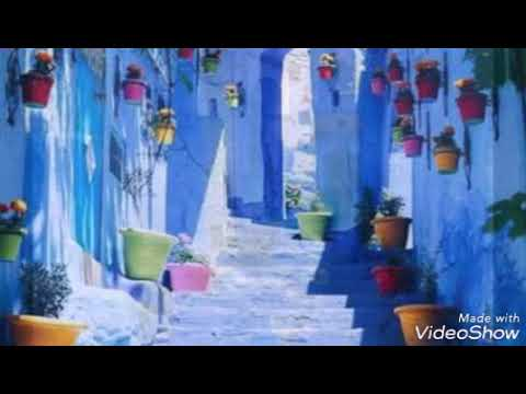 Chefchaouen the blue city in Morocco where was boom boom shoting .