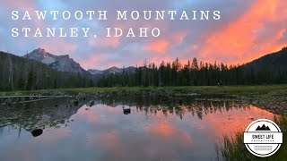 Sawtooth Mountains Stanley, Idąho | Camping, Hike to Sawtooth Lake, Bridal Veil and Lady Face Falls