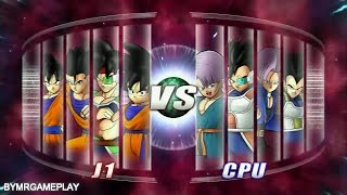 Dragon Ball Ragin Blast 2 Goku Family  vs Vegeta Family