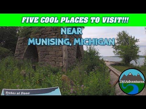 FIVE    Cool Places to Visit Near    Munising, Michigan