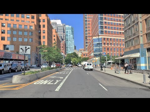 Driving Downtown - Brooklyn Avenue 4K - New York USA