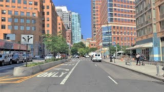 Driving Downtown - Brooklyn Morning 4K - USA