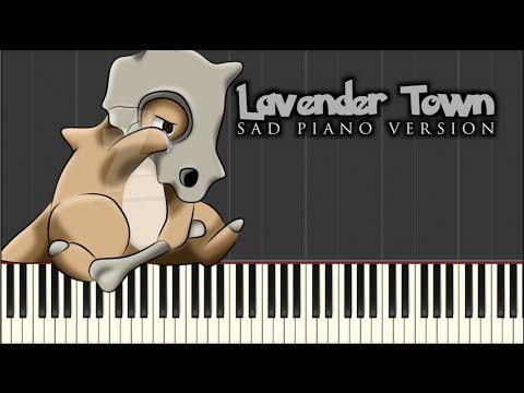 Lavender Town Sad Piano Version | Synthesia Tutorial