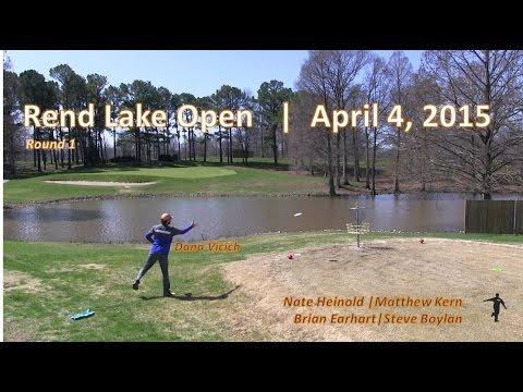 The Disc Golf Guy - Vlog #280 - Rend Lake B-Tier - Rnd 1 - Vicich, Heinold, Kern, Boylan, Earhart