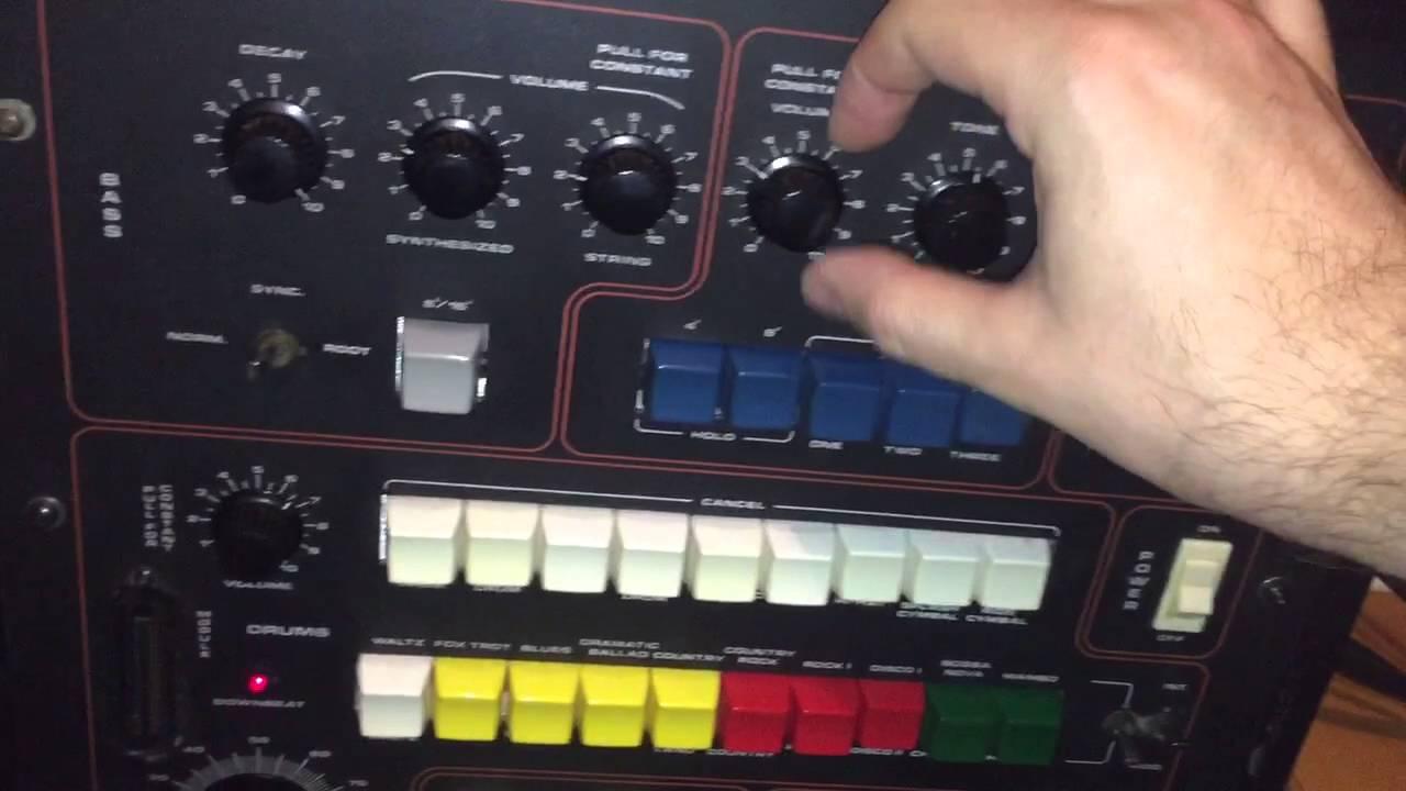 mti auto orchestra analog drum machine bass strings machine youtube. Black Bedroom Furniture Sets. Home Design Ideas