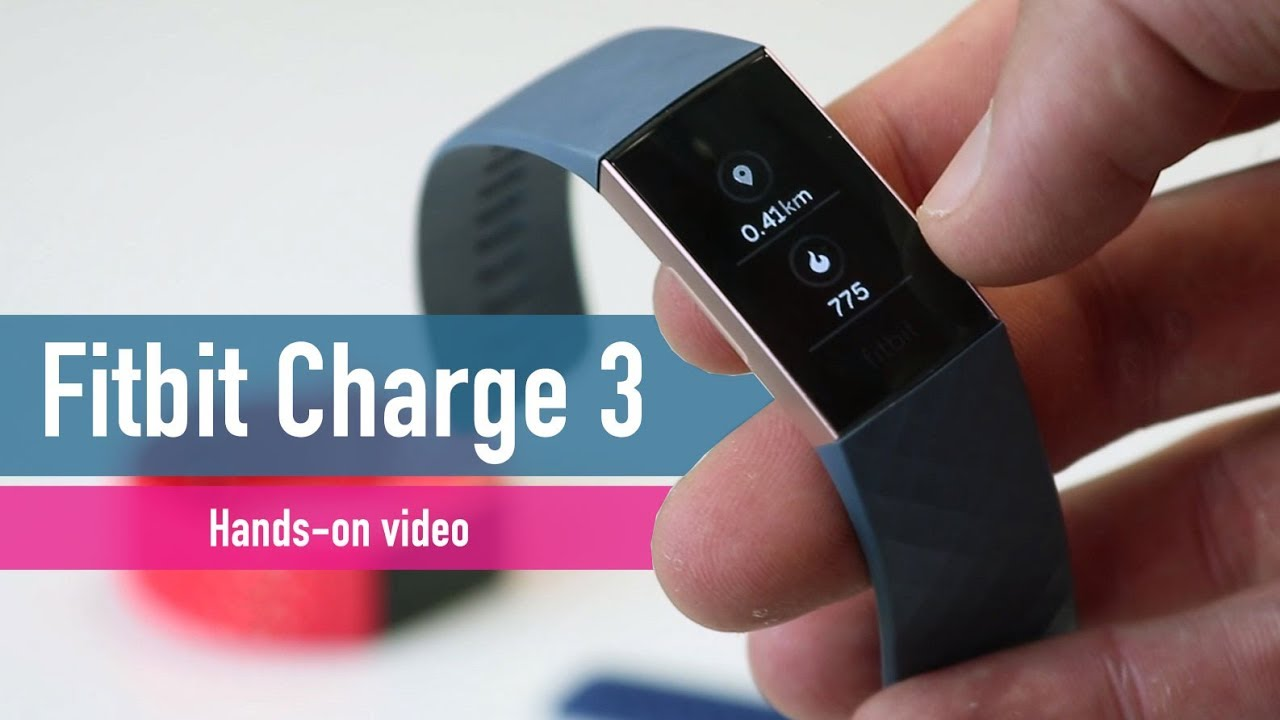 Fitbit Charge 3 hands-on