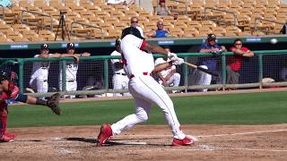 Bobby Bradley, Cleveland Indians INF Prospect (2017 Arizona Fall League)