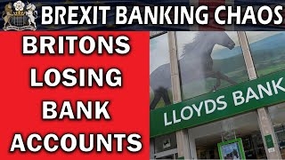 Bank Accounts Closing Due to Brexit