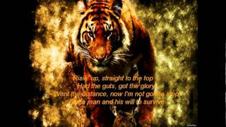 Eye of the Tiger song and lyrics